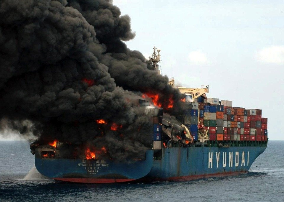 Could a vessel fire sink your company's supply chain?