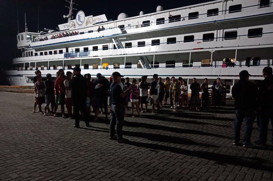 Shipping firm denies human smuggling claim