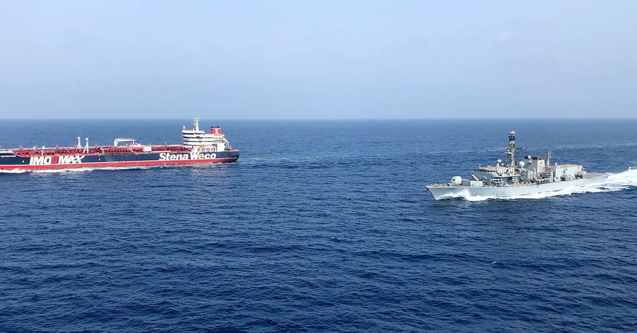 Britain, U.S. to Protect Shipping Through Strait of Hormuz From Iranian Threats