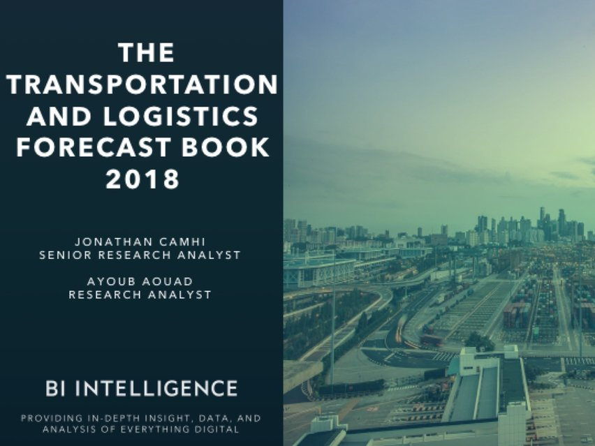 The top trends and technologies impacting consumer transit and the supply chain