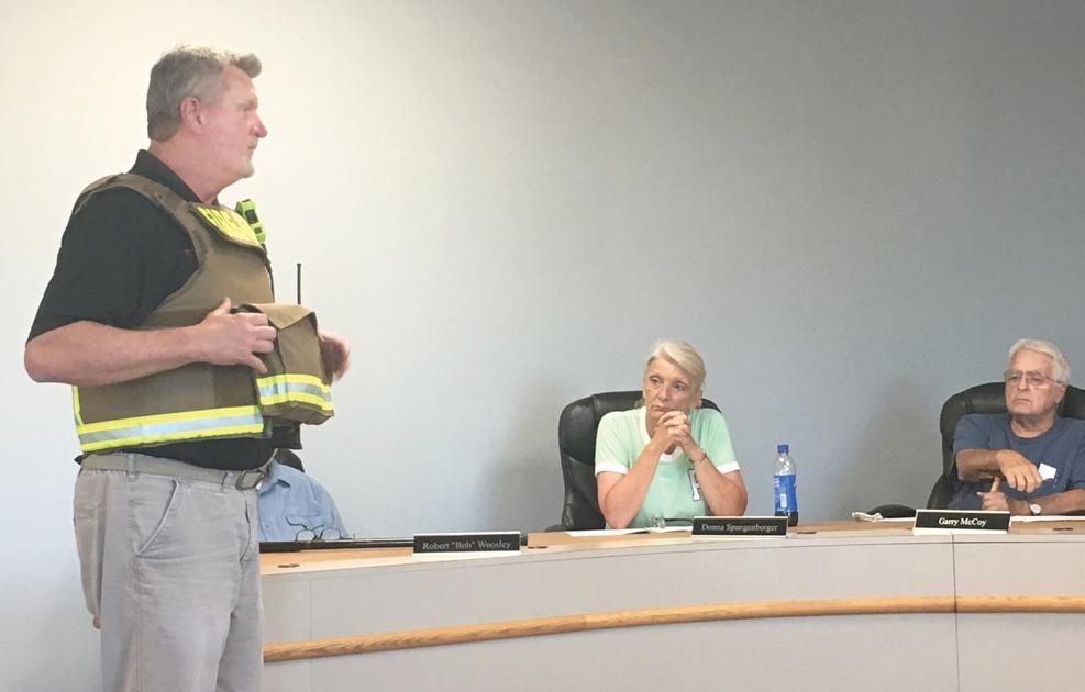 Vine Grove purchasing safety vests for firefighters | Local News