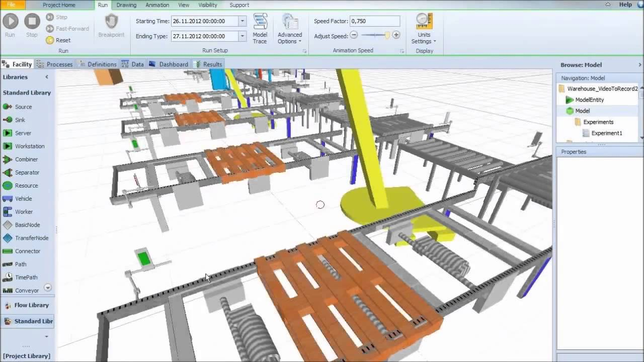 Supply Chain Simulation Software