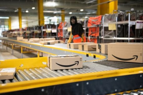 Amazon Beefs Up Warehouse Employees For Holiday