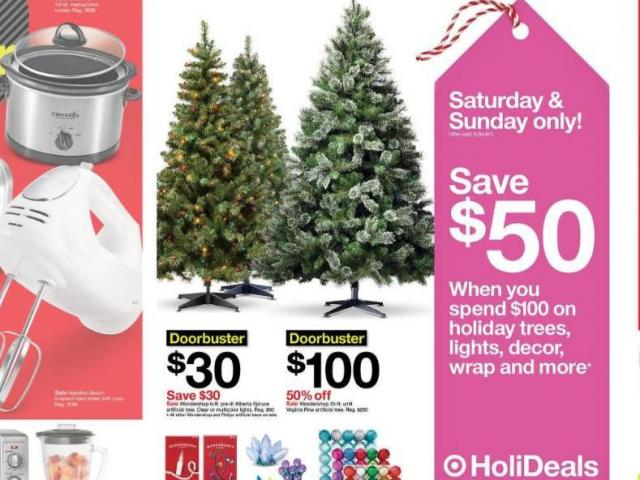 $50 off $100 purchase of holiday trees & decor + Black Friday sales live through TODAY :: WRAL.com