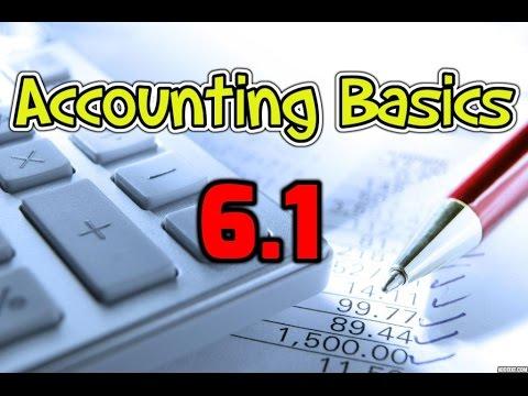 Accounting Basics 6.1: Inventory