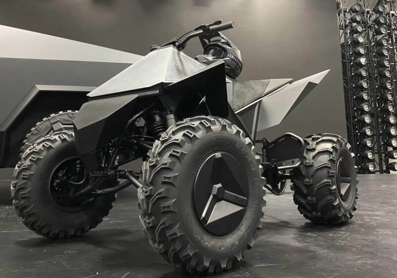 Tesla's 'Cyberquad' ATV will ship as an add-on for the Cybertruck