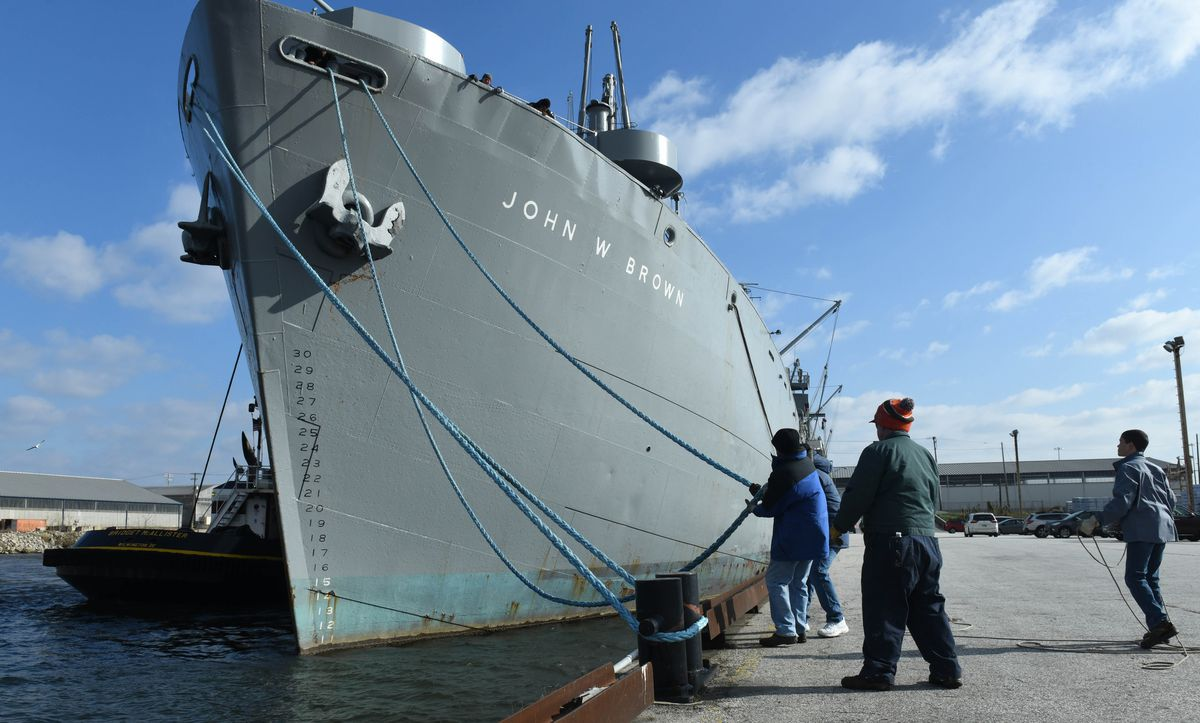 Plans unveiled for Liberty ship John W. Brown to remain in Baltimore
