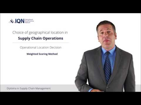 IQN Diploma in Supply Chain Management.