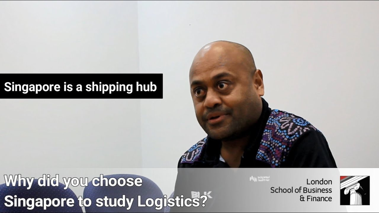 LSBF Singapore | Advanced Diploma in Logistics & Supply Chain Management | Jo