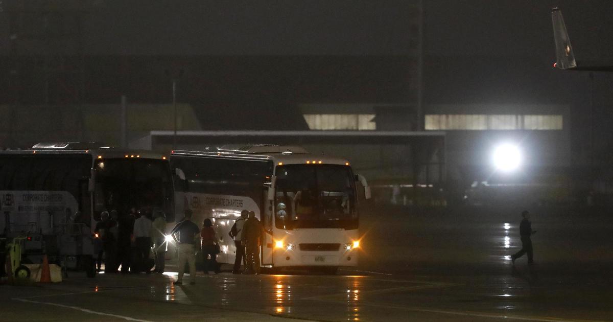 Americans from coronavirus-stricken cruise ship in Japan flown back to U.S.