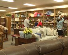 Local non-profit hosts warehouse sale
