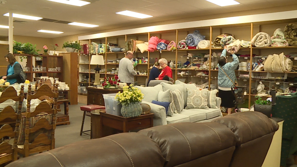 Local non-profit hosts warehouse sale