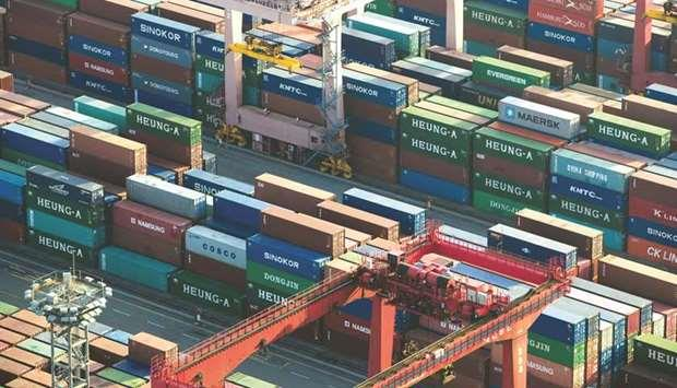 S Korea trade data show coronavirus disruption to China supply chain
