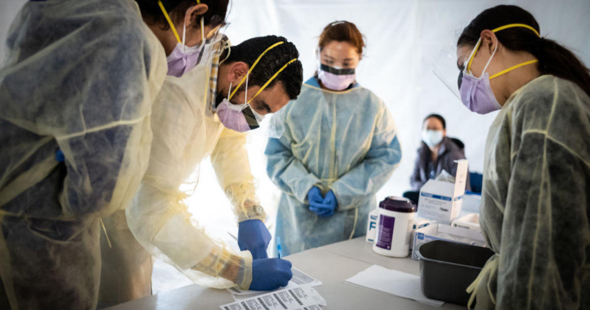 """Coronavirus updates: New York governor to health care workers: """"Please come help us"""""""