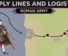 Roman Army Supply Lines and Logistics (Overview)