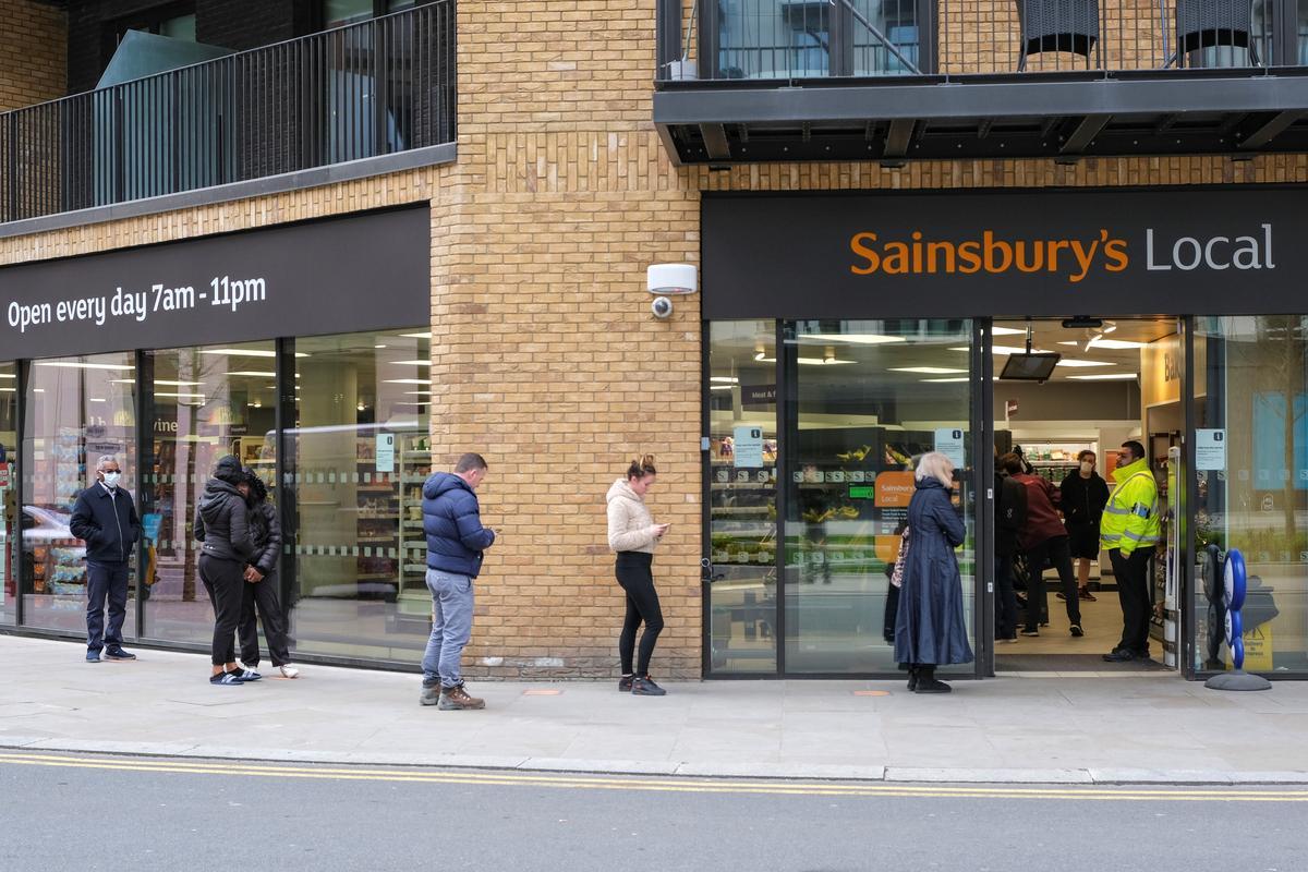 British supermarket Sainsbury's to remove most customer purchasing limits