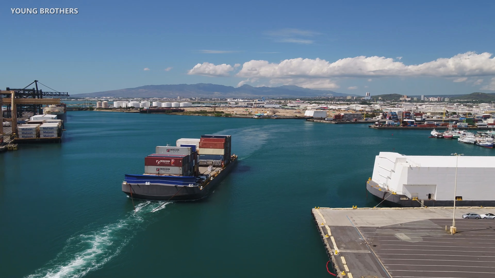 Young Brothers Shipping Solutions Sought By Council
