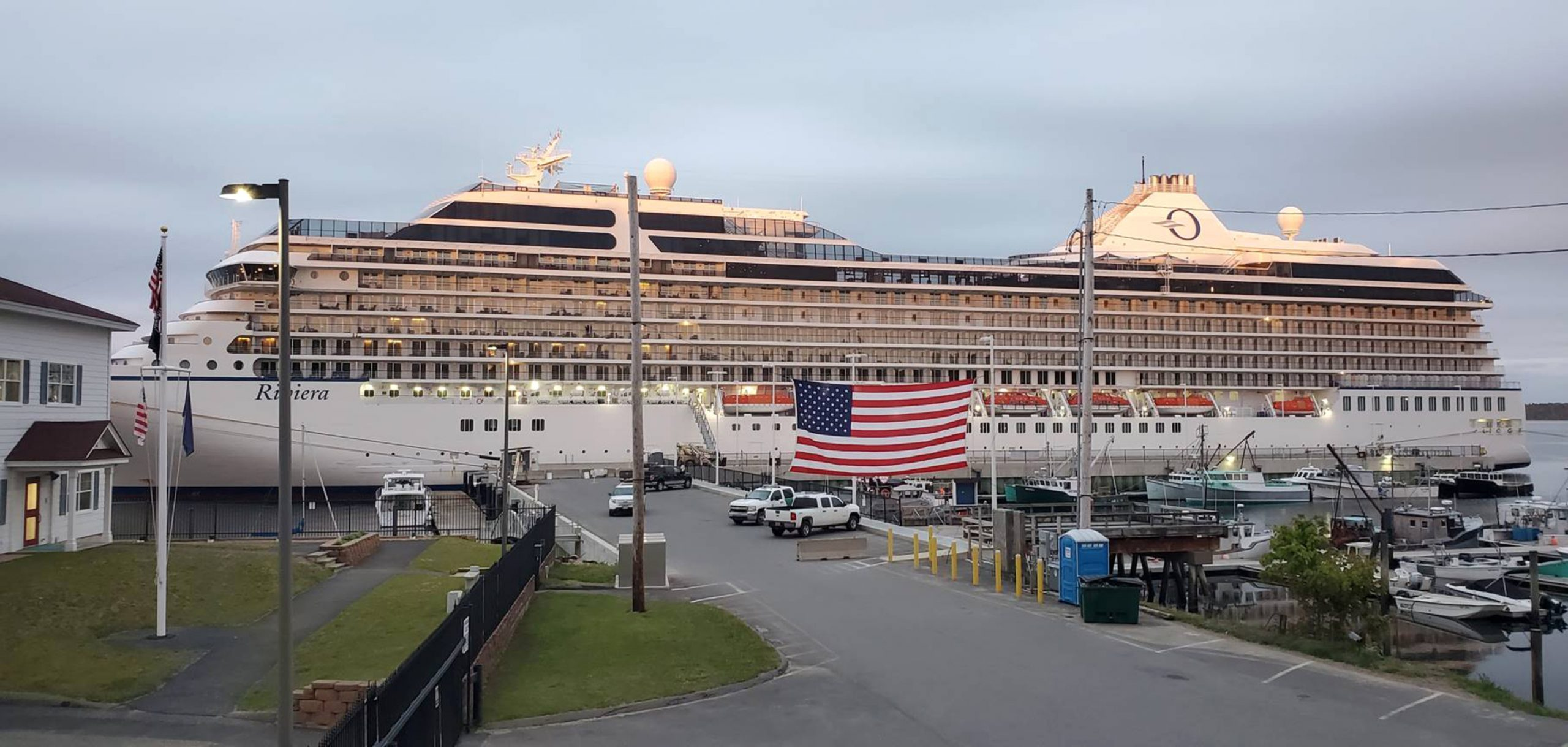 Cruise ship that tied up in Eastport to wait out the pandemic to depart for Europe