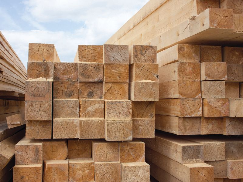 Wood demand spikes as inventory slips due to COVID-19