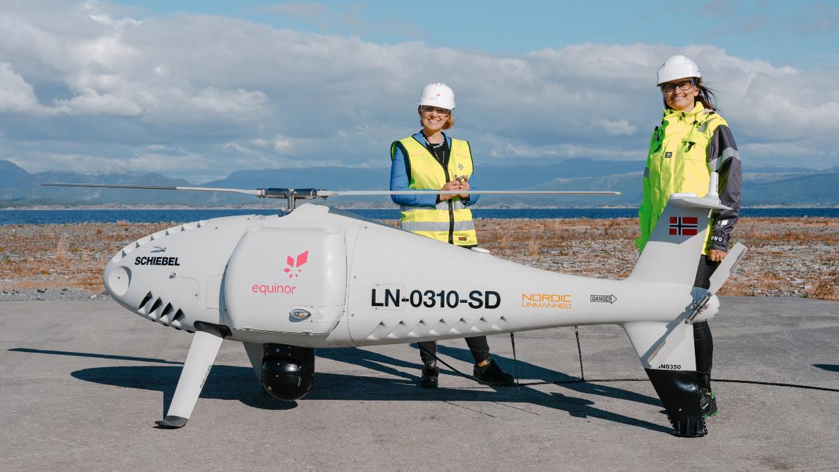 Riviera – News Content Hub – Milestone drone project shows offshore logistics potential – Riviera Maritime Media
