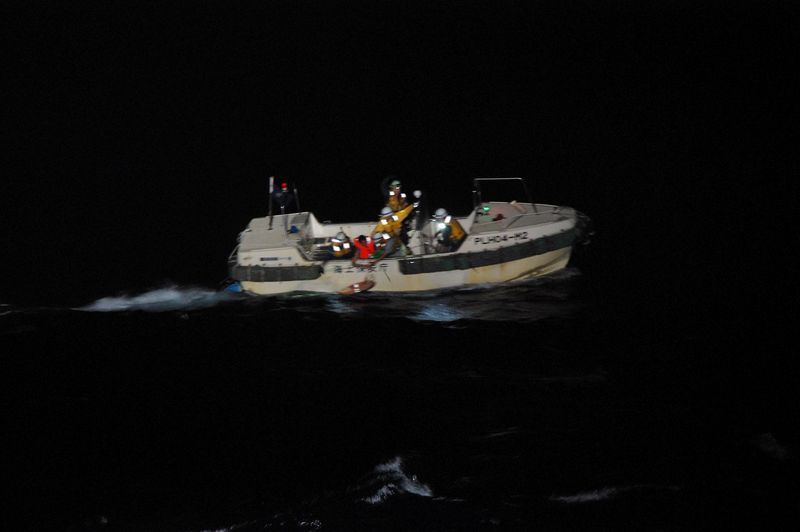 Cattle ship feared lost off Japan in storm, one crew member rescued