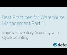 Warehouse Management Best Practices Part 1: Improve Inventory Accuracy with Cycle Counting