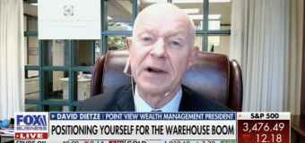 VIDEO: Point View's Dietze Looks at Opportunities Connected to Warehousing Boom