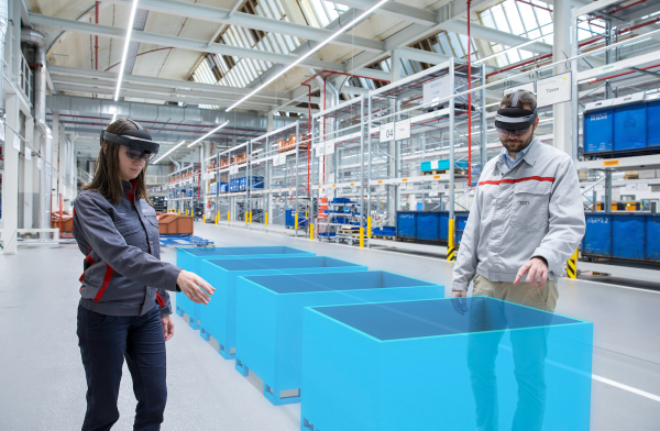 Audi using augmented reality to increase efficiency in logistics planning