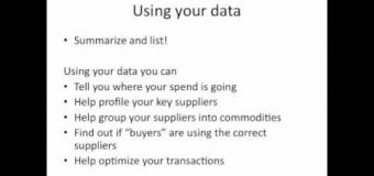 How to use spend analysis to improve your supply chain