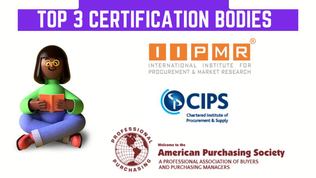 Top 3 Procurement Certifications