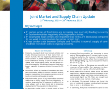 Somalia: Joint Market and Supply Chain Update, 21st February, 2021 – 28th February, 2021 – Somalia